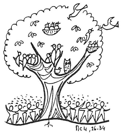 Mustard Seed Coloring Page free parable of the mustard seed coloring pages