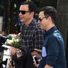 No Marriage Plans For Jim And Celebamour by Jim Parsons Gives Shout Out To Boyfriend Todd Spiewak In