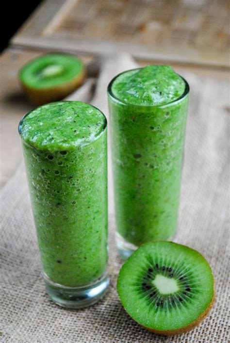 Kiwi Fruit Detox Smoothie by 340 Best Images About Green Smoothies On Hemp