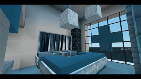 bedroom in minecraft minecraft 2 modern bedroom designs youtube