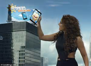 world cat boats careers mel b promotes online bingo in godzilla style tv advert