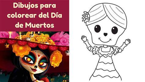 imagenes para colorear del dia de muertos cuaderno para colorear del d 237 a de muertos especial para ni 241 os