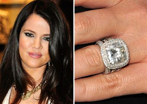 Khloe Wedding Ring by 25 Most Expensive Engagement Rings
