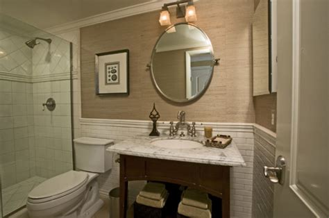 Wainscoting In Bathroom Problems by 30 Ideas For Using Wainscoting Subway Tile In A Bathroom