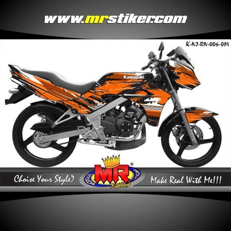Stiker Racing Ninja R by Ninja R New Splater Grafis Stiker Motor Striping Motor