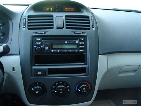 security system 2007 kia spectra instrument cluster 2006 kia spectra 4 door sedan ex auto instrument panel 9726829