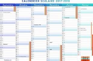 Calendrier 2017 Des Saints Calendrier Scolaire 2017 2018 Du Premier Semestre De