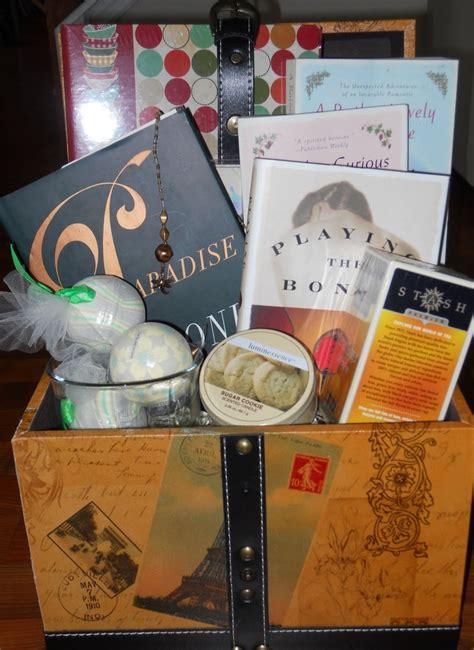 gift ideas books gift basket for book gift basket ideas