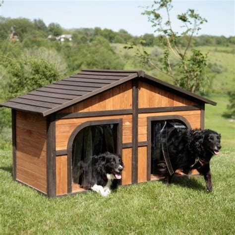 large dog house for multiple dogs extra large solid wood dog houses suits two dogs or 1 large breeds this spacious