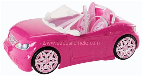 pink convertible cars barbie glam convertible