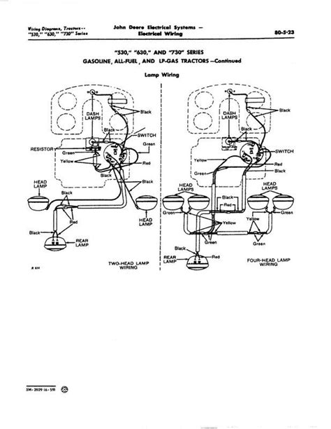 deere 4230 light wiring schematic deere radio
