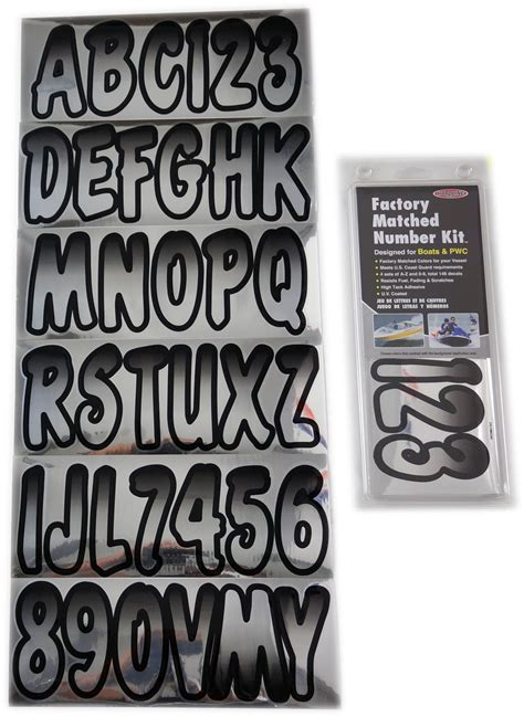 boat registration lettering size chrome black boat lettering registration numbers 200