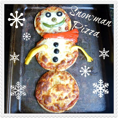 Pizza Giveaway - mom what s for dinner snowman pizza and a giveaway