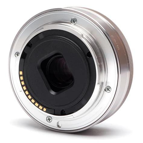 Sony Lens E 16mm F2 8 sony 16mm f2 8 lens sn 1244415 e mount silver ebay