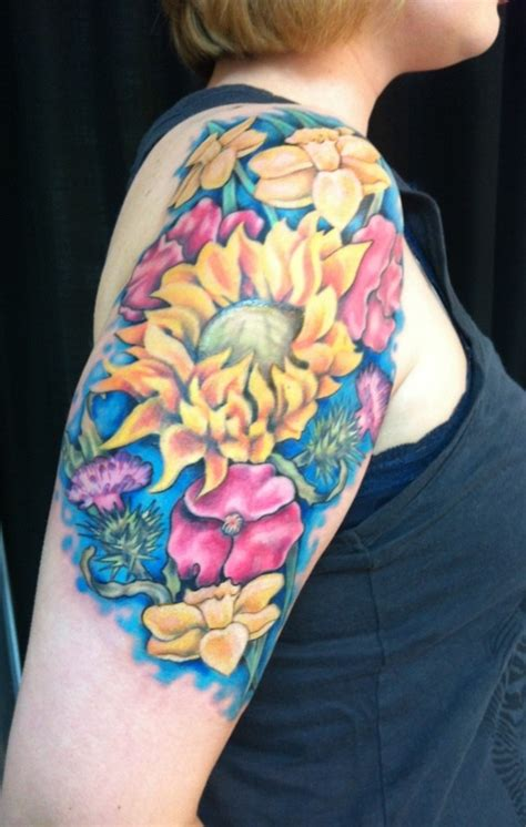 17 best images about sunflower tattoos on pinterest
