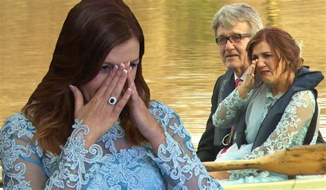 film don t tell the bride groom picks perfect blue wedding dress on rte s don t tell