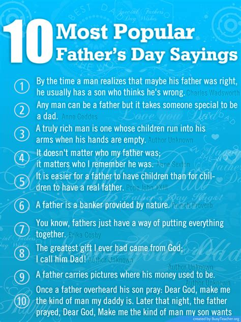 trendy phrases of 2014 10 most popular father s day sayings 2017 father s day