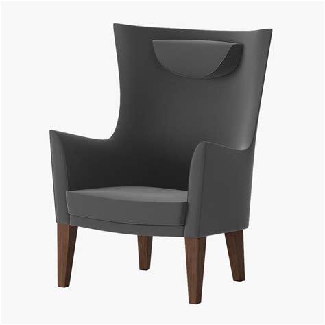 stockholm armchair ikea ikea stockholm armchair 3d model