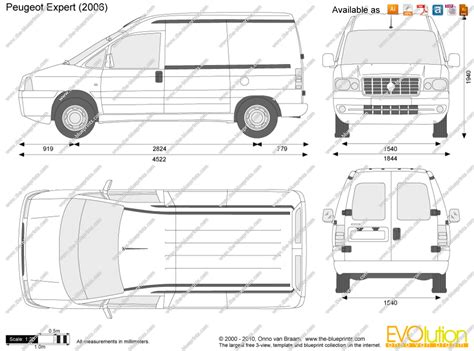 peugeot expert dimensions 1998 peugeot expert pictures information and specs