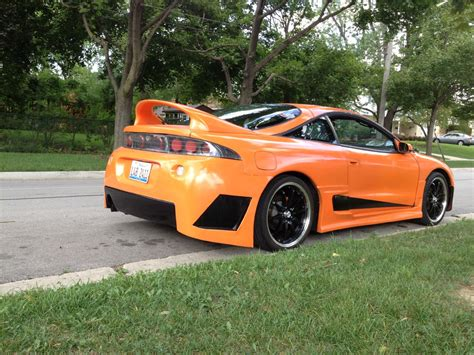 mitsubishi custom cars 1997 mitsubishi fwd turbo custom eclipse gst for sale