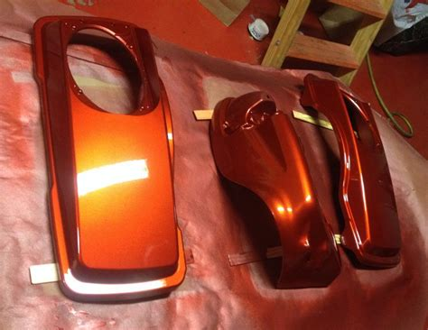 Harley Davidson Orange Paint Code by 2014 Ultra Classic Orange Paint Code Harley