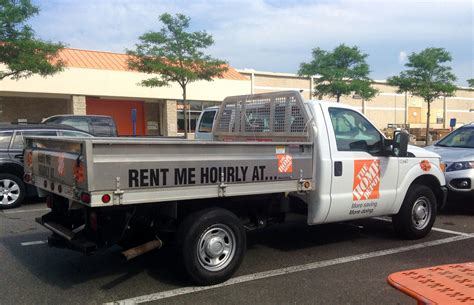home depot hourly rental up truck 6 2014