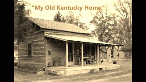 my kentucky home by stephen foster words lyrics best