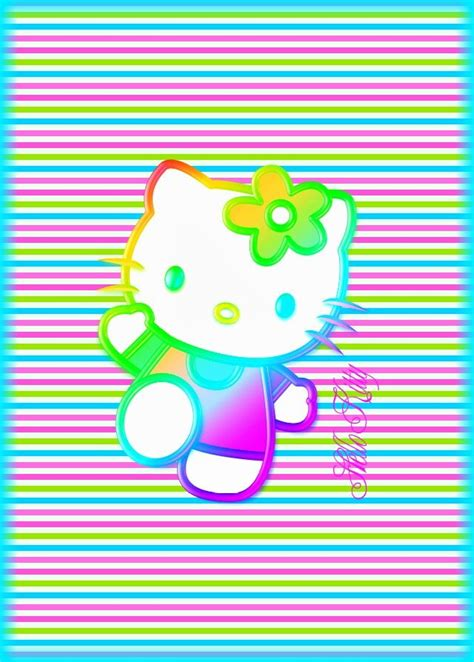 wallpaper hello kitty rainbow 28 best images about wallpaper made by me on pinterest