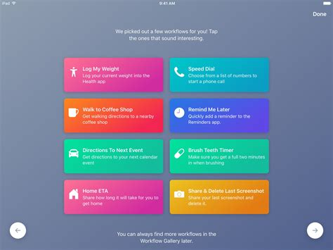 apple workflow apple s workflow app gains new apple actions brings