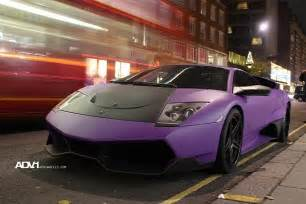 Lamborghini Purple Purple And Matt Lamborghini Murcielago Lp670 Sv Garage Car