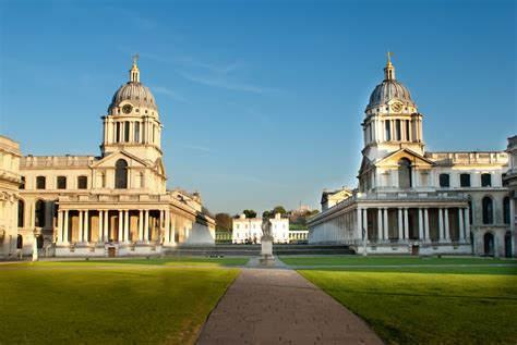 When Was The First House Built by Great London Buildings Old Royal Naval College Greenwich