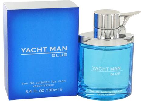 Parfum Yacht yacht blue cologne for by myrurgia