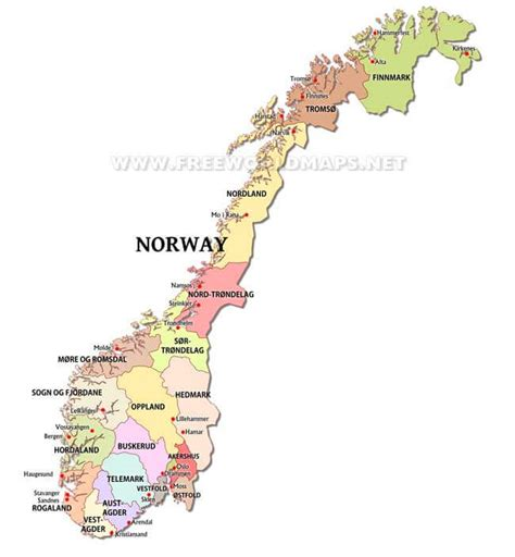 political map of scandinavia maps by freeworldmaps net