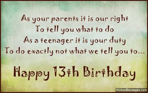 13 Year Birthday Quotes 13th Birthday Quotes For Daughter Quotesgram