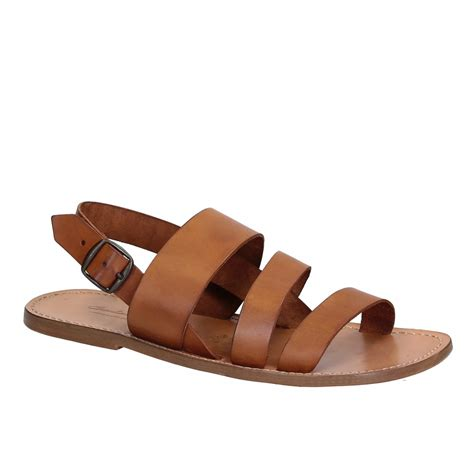 Mens Handmade Sandals - leather sandals handmade in italy for s gianluca