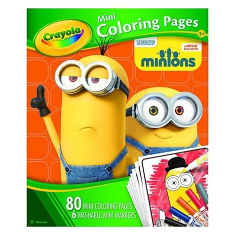 crayola coloring pages minions 248 best images about minions coloring pages on pinterest