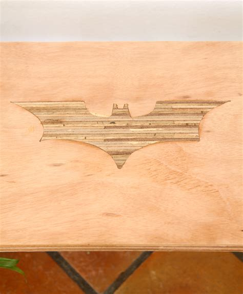 diy plywood bench batman plywood diy bench seat with fire burning home