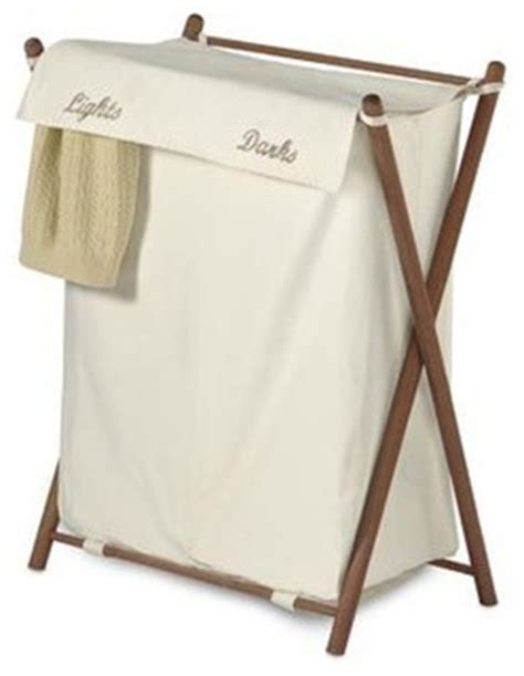 bed bath and beyond laundry her double sorter folding wood her contemporary hers