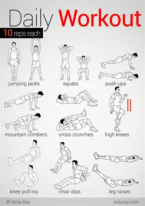 daily workout pdf