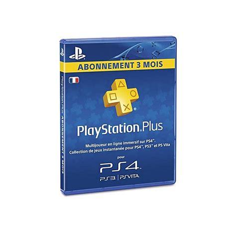 Ps4 Carte by Sony Ps4 Carte Ps Plus Abonnement 3 Mois Pas Cher Jumia Tunisie