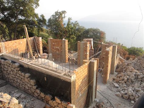 rock house itha108 stone house under construction