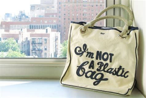 Im Not A Plastic Bag Im A Personalised Photo Bag By Anya Hindmarch by I M Not A Plastic Bag With The Knowledge Thief