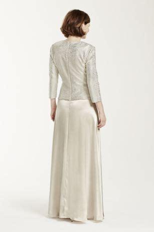 3 4 Sleeve Mock Two Dress mock two dress with 3 4 sleeve jacket david s