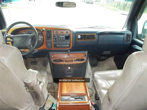 how cars run 1997 chevrolet express 2500 electronic toll collection 1997 chevy express hi top conversion van navy blue automatic
