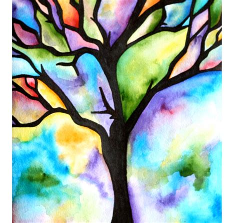 simple designed and painted tiny watercolor painting ideas coles thecolossus co