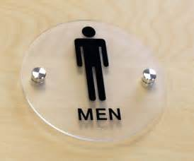 Modern Bathroom Signs Stylish Restroom Signs With Grade 2 Braille Cool