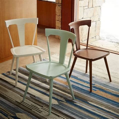 West Elm Dining Chair Splat Dining Chair West Elm
