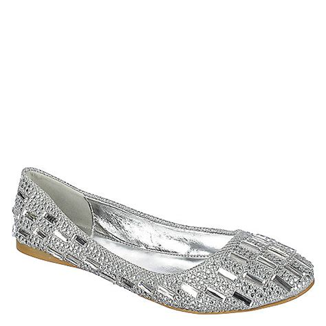shiekh julie 04 womens silver flats shiekh shoes