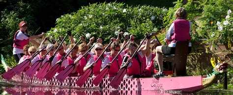 dragon boat racing and breast cancer breast cancer survivor team races dragon boats to support