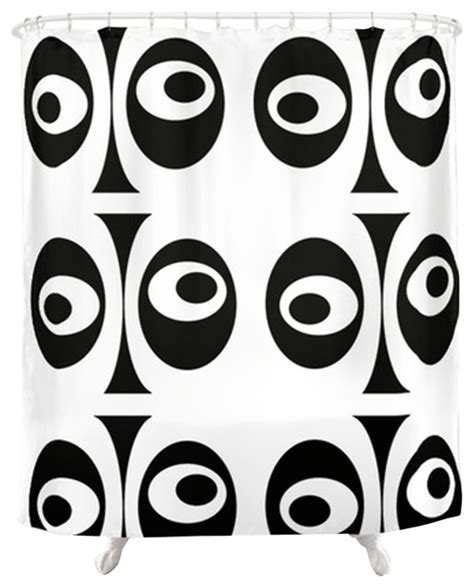 black and white drapes contemporary modern black and white shower curtain contemporary
